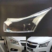 Headlamp Lens For Chevrolet Cruze 2008 2009 2010 2011 2012 2013 2014 Headlight Cover Replace Front Car Light Auto Shell