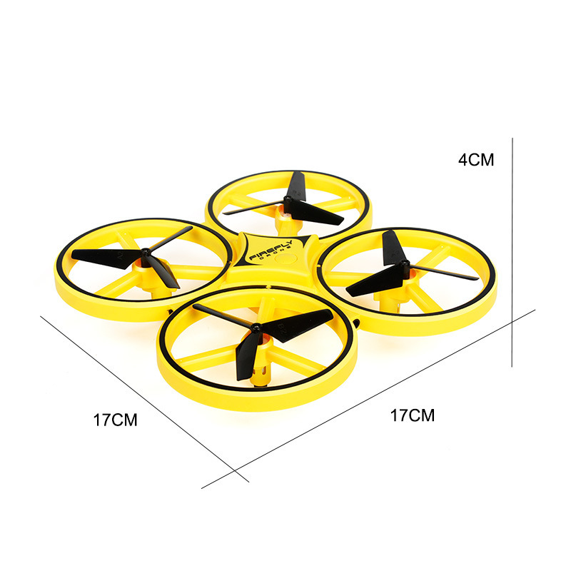 Gesture Helicopter UFO Induction Vehicle Remote Control Aircraft Drop-resistant Hover Handle CHILDREN'S Toy Four-axis Unisex