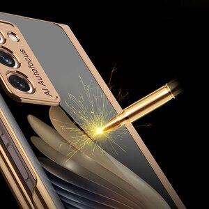 Image 2 - Custodia GKK per Samsung Galaxy Z Fold 2 custodia 5G custodia protettiva antiurto in vetro placcato di lusso per Samsung Galaxy Z Fold 2
