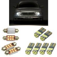 Интерьерный светодиодный автомобильный светильник s для Opel omega b estate sedan v94 лампы для автомобилей светильник номерного знака 12 шт
