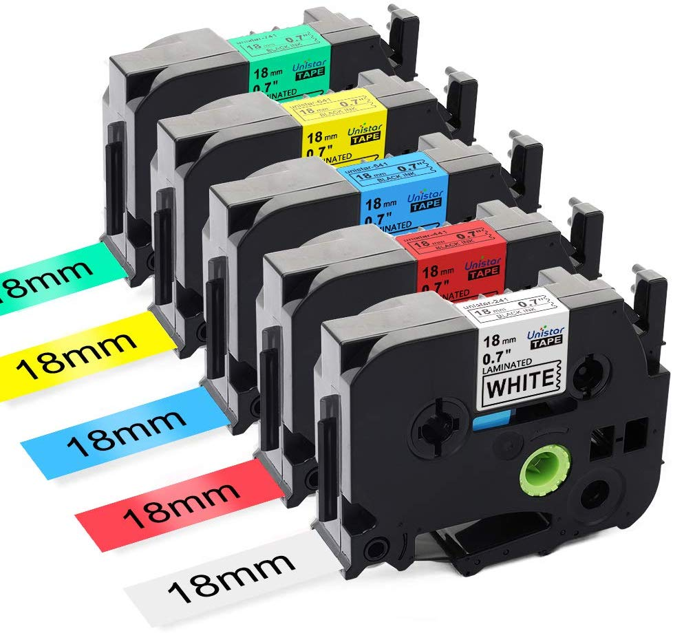 Compatible TA 231 TZe 231 Label Tape Printer Ribbons Label Making For Brother