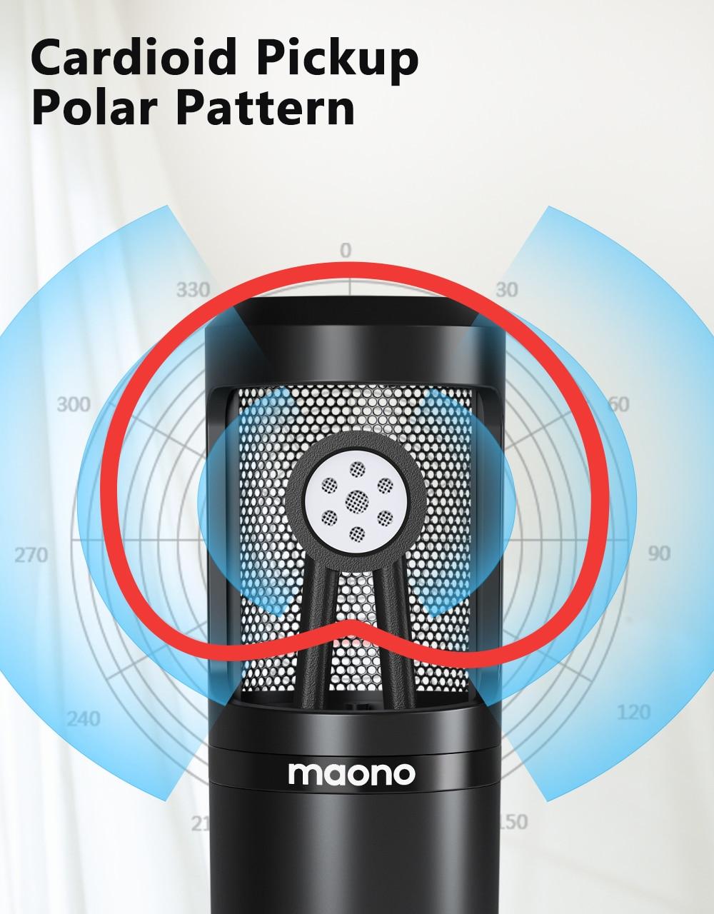 MAONO AU-PM360TR Condenser Microphone 10