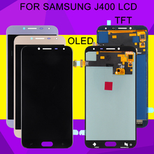 купить HH OLED J4 2018 Lcd For Samsung Galaxy J400 Lcd J400F/DS J4 Display 2018 With Touch Screen Digitizer Assembly Free Shipping по цене 924.86 рублей