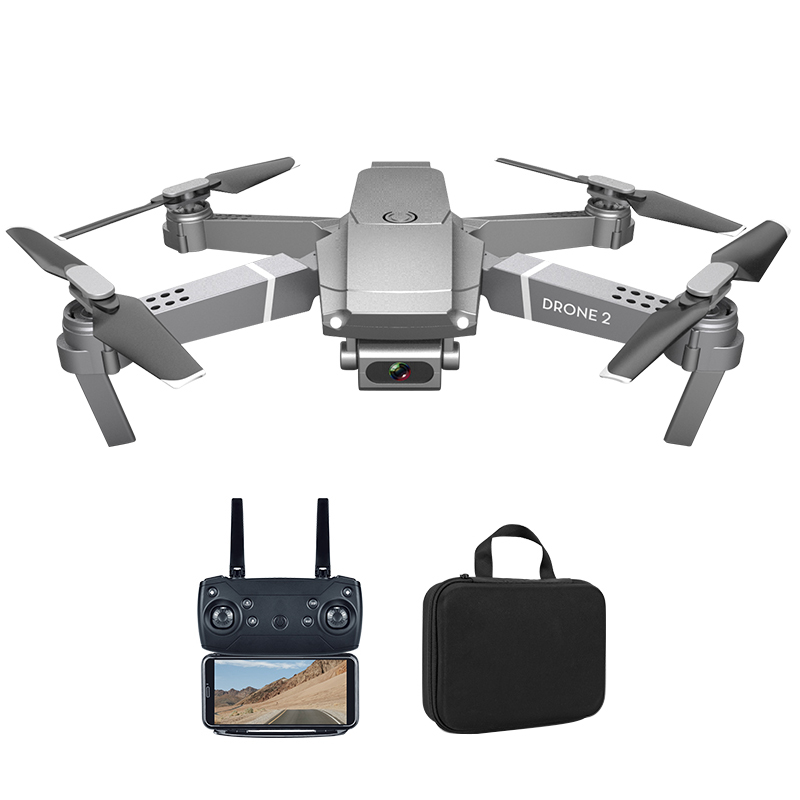 E68 WIFI FPV Mini Drone 2 with Wide Angle HD 720P Camera Hight Hold Mode RC Foldable Quadcopter Dron Gift Toys
