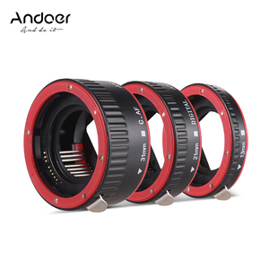 Image 5 - Andoer Macro Extension Tube Adapter Ring for all Canon EF EF S mount lenses TTL and autofocus Plastic macro extension tube canon