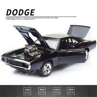 1/32 Fast & Furious Dodge Ladegerät Auto Modell Diecast Legierung Pferde Muscle Fahrzeug Modelle Mit Sound Beleuchtung Spielzeug Geschenk Für sammlung