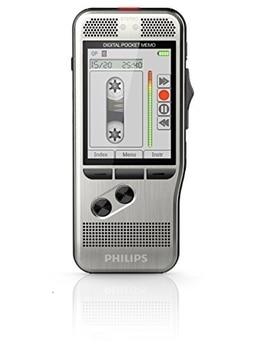 Philips DPM7200 - Grabadora de voz digital (SpeechExec, software de trabajo, formatos MP3, PCM y DSS, 700 horas de grabación),