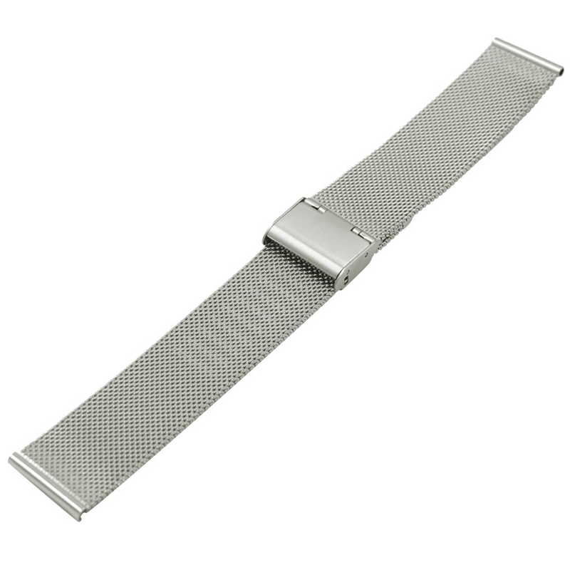 Milanese Watch Band Stainless Steel Woven Strap Milanese Watchband 16mm 18mm 20mm 22mm Steel Belt Mesh Webbing Watch Accessories in Watchbands from Watches
