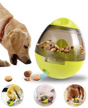 Interactive Dog Toy Treat Ball  Food Dispenser for Small Medium Dogs Boredom Puzzle Mental Stimulation Pets Toys DM123