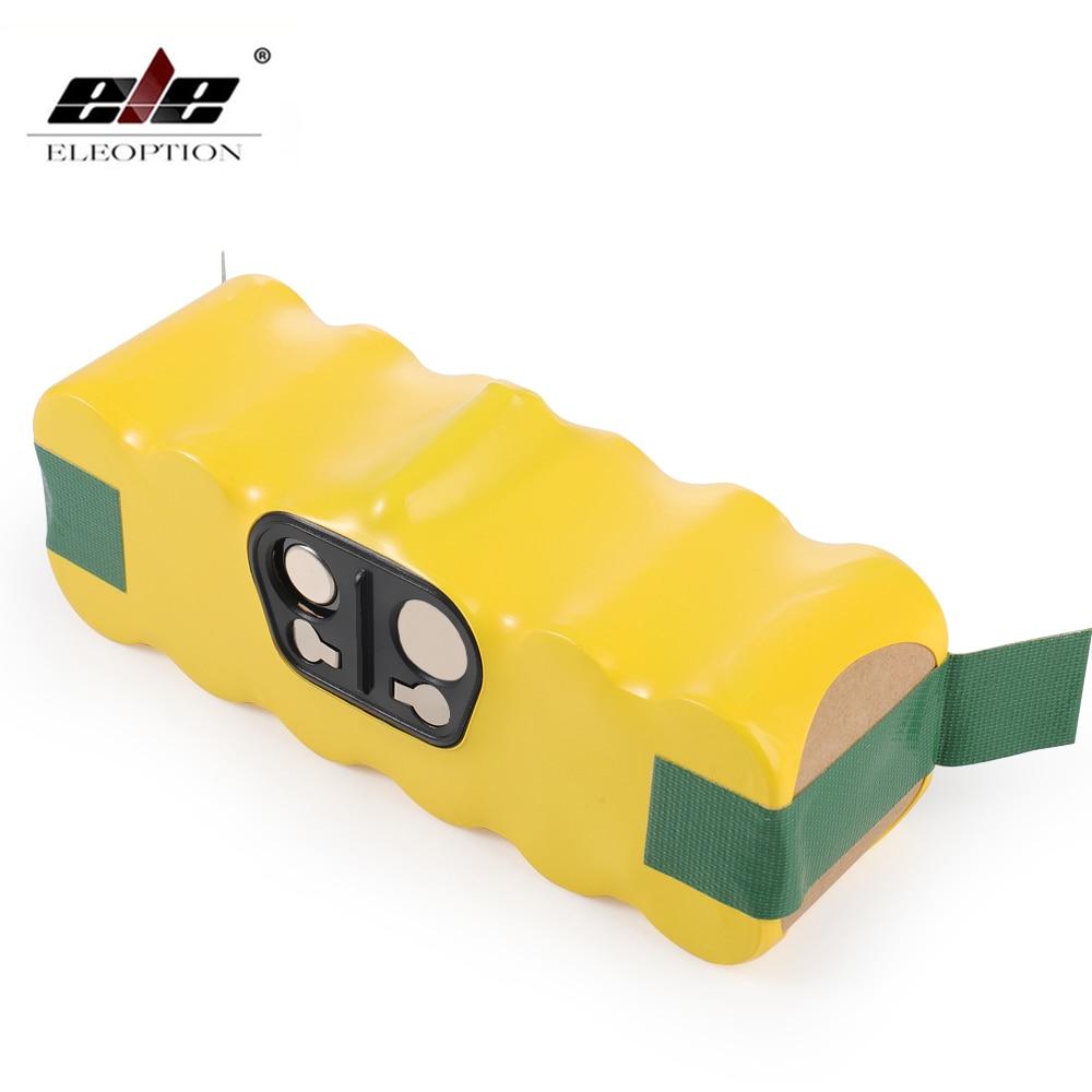 Аккумулятор для пылесоса iRobot Roomba, батарея 4000 мА/ч/4500 мА/ч, 14,4 В для iRobot Roomba 500, 510, 530, 570, 580, 600, 630, 650, 700, 780, 790, аккумуляторная батарея