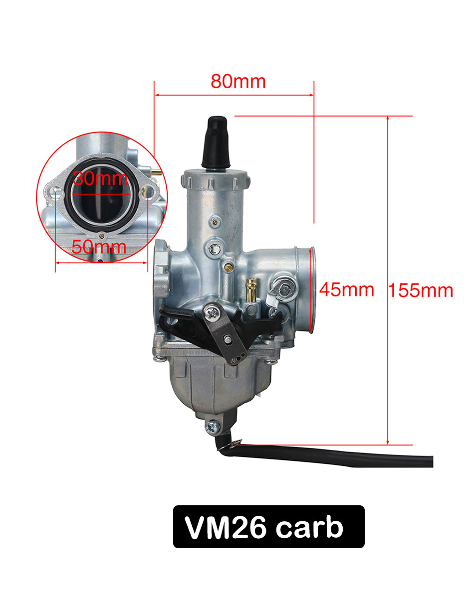 30mm vm28 32mm mikuni vm series carb