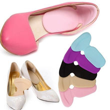 Women's insole T-shaped silicone non-slip comfort insole foot cover high heel protective cover lining shoes insole random color(China)