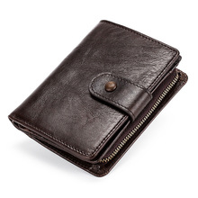 Rfid Man Wallet Mens Wallets Mini Men Womens And Genuine Leather Leisure Purse Purses Bag