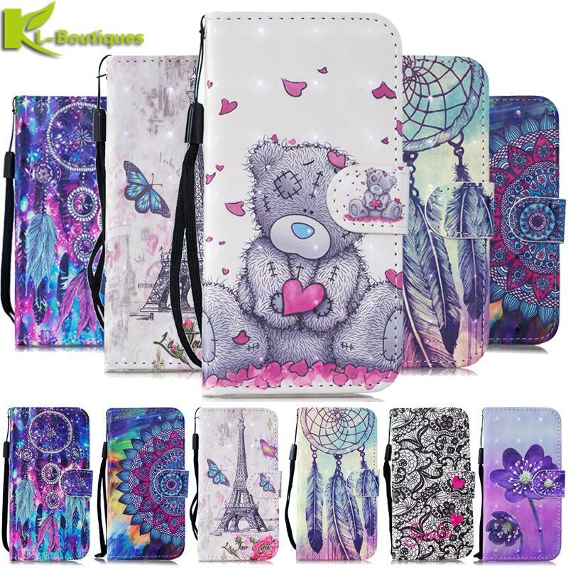 For <font><b>Samsung</b></font> Galaxy <font><b>A20</b></font> <font><b>Case</b></font> Leather <font><b>Flip</b></font> <font><b>Case</b></font> sFor <font><b>Samsung</b></font> <font><b>A20</b></font> A 20 A20E <font><b>A20</b></font> <font><b>e</b></font> Cover Luxury 3D Painted Wallet Phone <font><b>Case</b></font> Couqe image