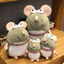 купить 1PCS cute big eyes mouse plush toy soft plush stuffed animal kids toys funny toys home decoration Christmas gifts дешево