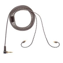 ALO Original Andromeda Smoky Litz Audio Cable New 4 Strand Silver Plated Copper Earphone Upgrade Wire MMCX 3.5mm Plug Headset
