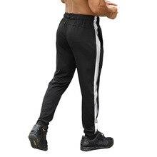 Мужские тренировочные штаны для бега, футбола, брюки для активных пробежек, брюки для фитнеса, спорта, спортзала, леггинсы, мужские спортивные штаны