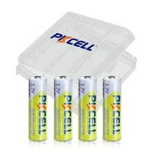4 piles AA PKCELL NI MH 2600Mah 1.2V piles rechargeables AA 2A Bateria Baterias avec boîtier de maintien de batterie AA