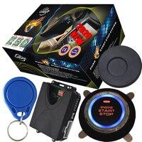 Universal remote push button engine start stop passive Keyless Entry system auto electronics Car Alarm