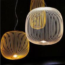 Moderne Hanglamp Replica Foscarini Spaken 1/2 Opknoping Lamp Led Vogelkooi Verlichting Keuken Licht Armatuur Eetkamer Verlichting