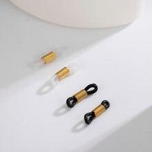 Eueavan 50 шт резиновые кольца для очков силиконовые Нескользящие