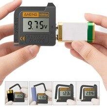 Battery Impedance Tester 1PCS Discharge Capacity Ammeter Voltmeter Energy Tester For AA 9V 1.5V