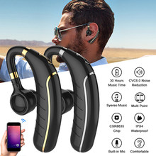 GDLYL Bluetooth 5.0 Sports Headset Mini Wireless Earphone Hands-free Earloop Earbuds Music Earpieces for IOS Android phone