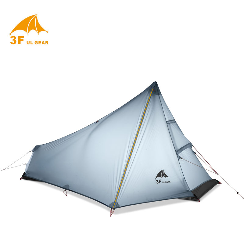 Rational Only 770 Grams 15d Silnylon No-see-um Net 3f Cangqiong Ultra-light 3 Seasons 1 Person 1 Layer Camping Tent