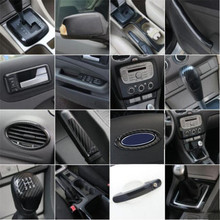 Car Styling Accessories External Interior Carbon Fiber  Decorative Trim Sticker trim case For Ford Focus 2 mk2 2005-2008