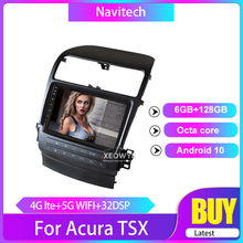 Car-Radio Android Acura Tsx Gps-Navigation Stereo for 2004-2008 Support Steering-Wheel