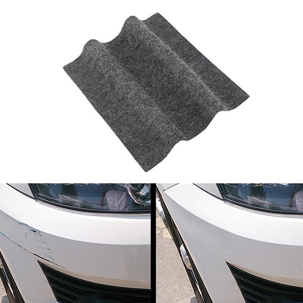 Ferramenta de reparo de arranhões de carro Pano de nano material Pano de superfície Trapos para automóvel Luz Pintura Arranhões Removedor de arranhões Para acessórios para automóveis Universal Para todos os carros