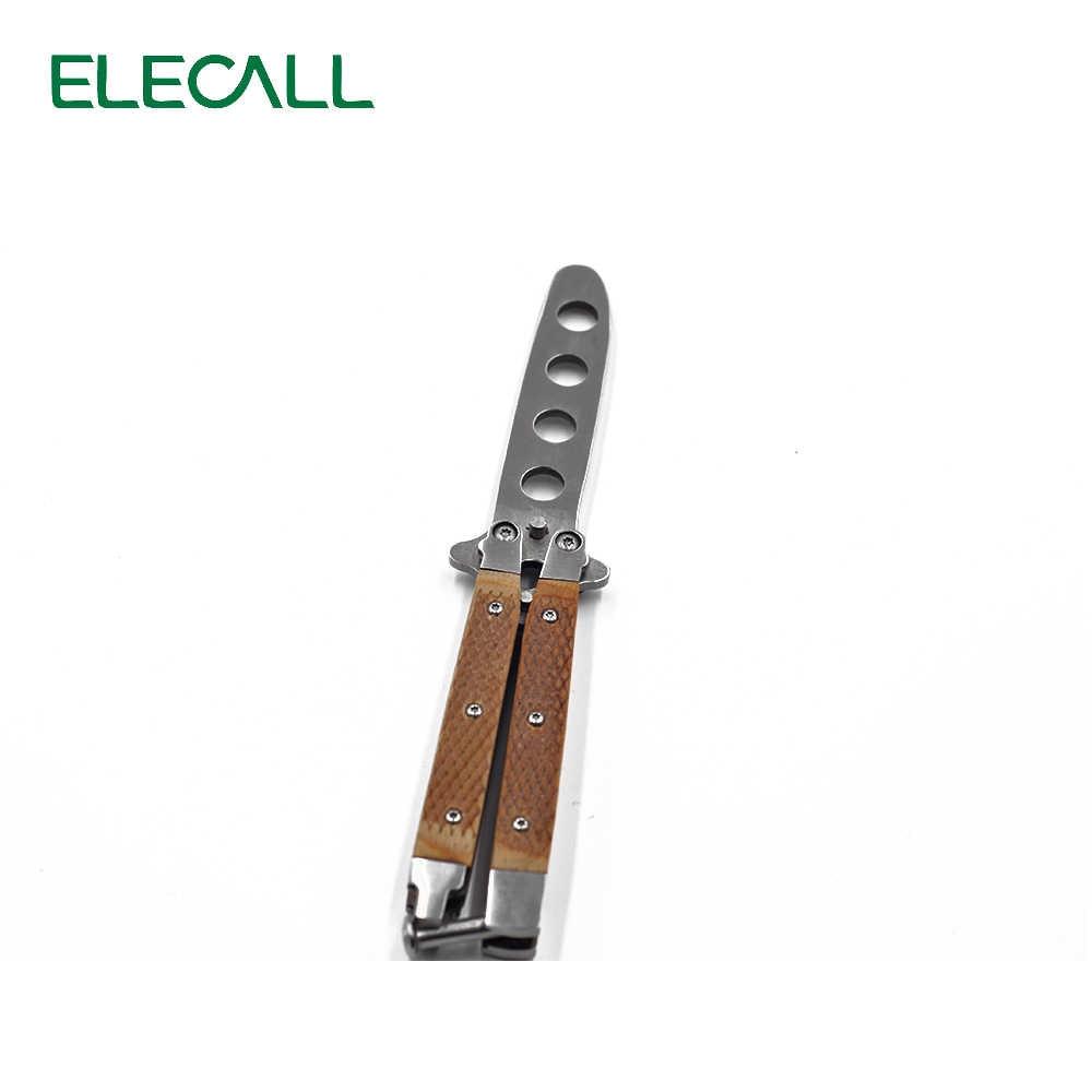 ليس شارب الأمريكية فراشة ممارسة سكين الإبداعية أداة باليسونغ للطي شفرة سكين