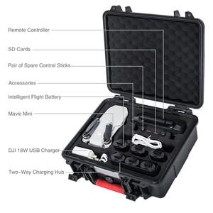 Image 2 - Smatree Waterproof Bag Carry Case for DJI Mavic Mini Drone/Remote Control/Batteries/Two Way Charging Hub
