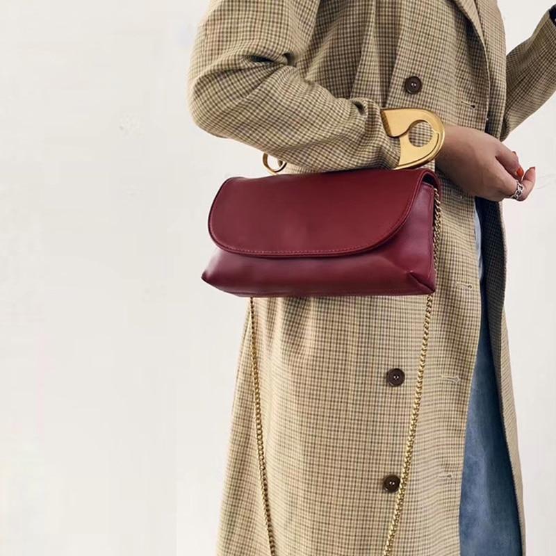 Designer Large Pin Soft Handbag