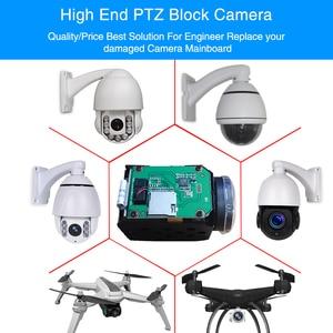 Image 4 - H.265 5MP ip camera module 10X Zoom cctv ip cameras ptz Onvif Low illumination video surveillance block camera module for uav
