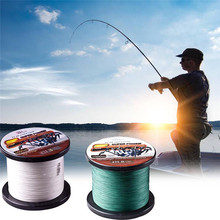 High quality 1000M PE Fishing Line 4 Strands Braided Fishing Line 8-80LB Multifilament Fishing Line Smooth Braid Fishing line sougayilang 300m 4 strands braided fishing line 0 6 8 0 pe fishing line 6 3 32 8kg multifilament fishing line smooth pesca
