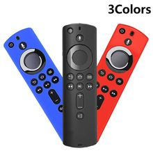 Protective Case 5.9 Inch Cover Soft Silicone Skin Sleeve Shockproof Anti Slip Replacement for Amazon Fire TV Stick 4K Remote