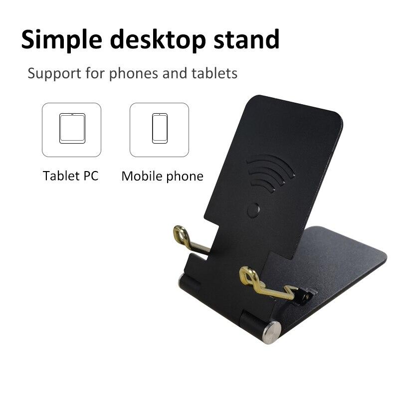 Mobile Phone Holder Table Desktop Stand Plastic Desk Mount Mini Portable Holder Universal Bracket For Smartphone