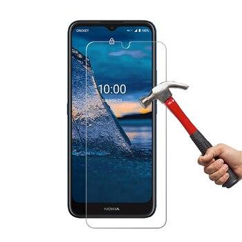 Перейти на Алиэкспресс и купить 2 шт. 9H 2.5D прозрачное закаленное стекло для Nokia C5 Endi 6,52 дюймЗащита экрана C5 Endi 0,25 мм ультра-тонкое против царапин HD Стекло