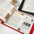 ERAL новый продукт шесть отверстий россыпью лист A4 Примечания. В офисе используется дневник Корнелла. Карта студенческого мышления. Чехол из ...