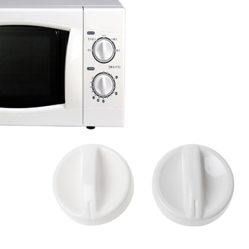 2 szt Uniwersalna kuchenka mikrofalowa plastikowa szpula gałka obrotowa przełącznik sterowany czasowo nowość tanie i dobre opinie MEXI CN (pochodzenie) Części kuchenka mikrofalowa other