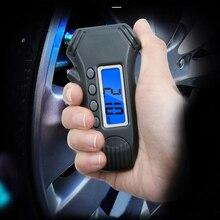 цена на Digital tire pressure gauge tire tread depth ruler 3 in 1 with backlit ruler tire barometer tire pressure gauge car repair tool