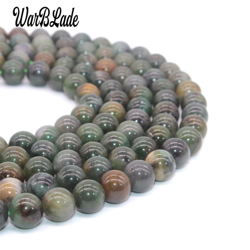 6MM 8MM 10MM Natural African Roar Tiger/'s Eye Round Loose Beads 15/'