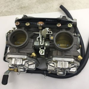 Image 5 - SherryBerg carb LIFAN Carburettor For Yamaha XV400 V400 carburetor assembly for V400 V535 V600 V650 for Harley 883 vegaser
