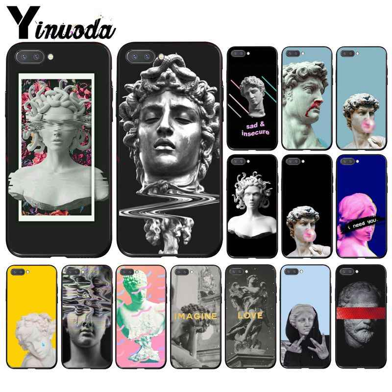 Yinuoda Alternativa David Statua Art Cassa Del Telefono per Huawei Honor 8X9 10 20 Lite 7A 5A 7C 10i 20i View20