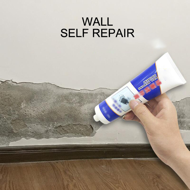 White Wall Repair Cream Latex Paint Waterproof Gypsum Wall Paint Repair Crack / Nail Eye / Greasy Powder / Easy To Operate