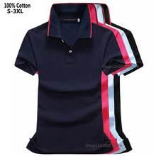 Polos à manches courtes pour femmes, chemises à revers, hauts Slim à la mode, 100% coton, bonne qualité, été, 2020