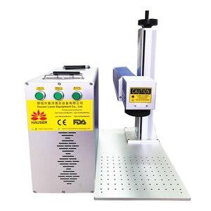 Image 2 - Factory direct máquina de grabado de metal, máquina de marcado láser de fibra Raycus de 20W para grabado de aluminio dorado, plateado y cobre