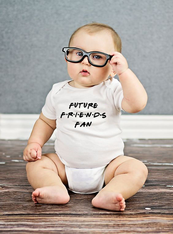 Future Friends Fan Baby Bodysuit Newborn Bebe Boy Girl Clothing 100%Cotton Short Sleeves Jumpsuit O-Neck Infant Boy Clothes