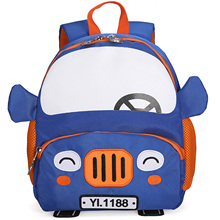Litthing School Bags Boy Children Schoolbag 3D Cartoon Car Backpacks 2-5 Years Fashion Cute Kindergarten Bag 2019